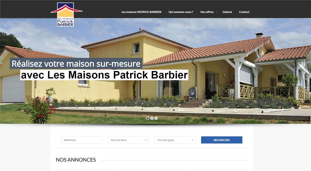 Web design archives commiti - Maison patrick barbier ...